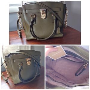 Michael Kors Olive Green Limited Edition purse